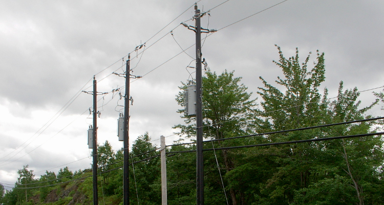 Banner Hydro Poles