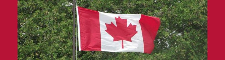 Canadian Flag banner 2015