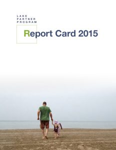 LakePartnerReportCard2015 FINAL cover