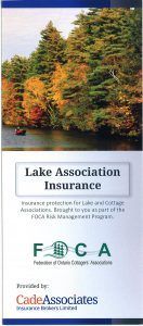 Cade Lake Association Insurance brochure COVER 2015