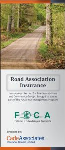 Cade Road Association Insurance brochure COVER 2015