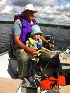 Fishing with Grampy