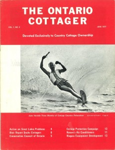The Ontario Cottager COVER June 1977
