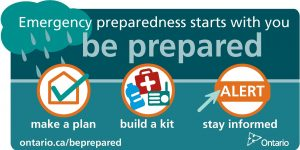 EMO Preparedness tips