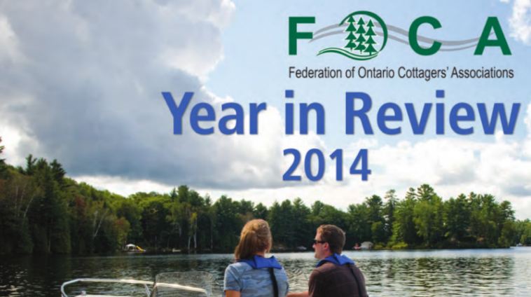 FOCA Year In Review COVER crop 2014