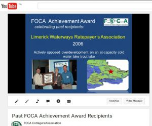 YouTube FOCA Award video still 2015