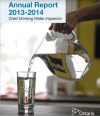 Chief Drinking Water Inspector Annual Report 2013 2014