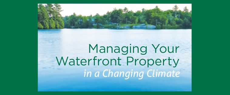 image: Banner for Booklet Managing Waterfront for a Changing Climate