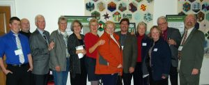 Picture of Terry and others at KLT 10 year anniversary 2011
