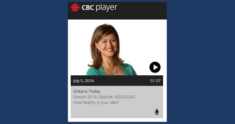image of CBC Ontario Today podcast banner