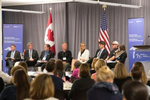 FOCA's Terry Rees at far left in this panel at the Great Lakes Public Forum, Oct.2016