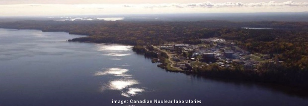 image: Chalk River nuclear site (source: Canadian Nuclear Laboratories)