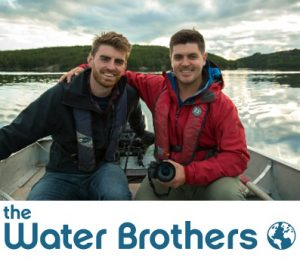 image of the Water Brothers and logo