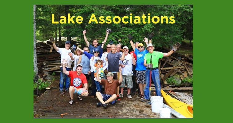 banner image: Lake Associations video still of people on a dock