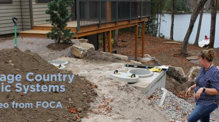 Foca your lake your lifestyle your legacy for Cottage septic systems