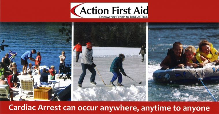 image: banner for Action First Aid offer