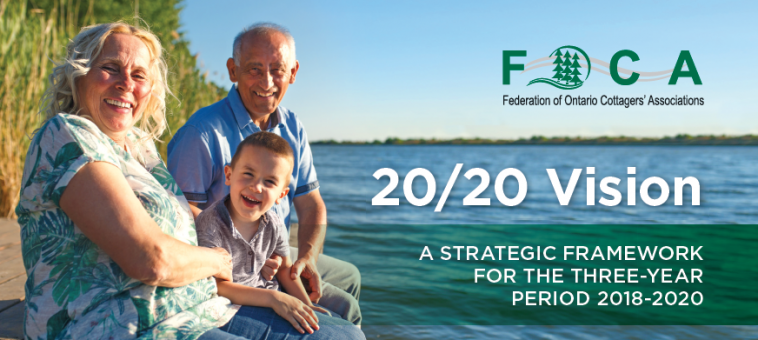 cover image for FOCA's Strategic Framework 2018-2020